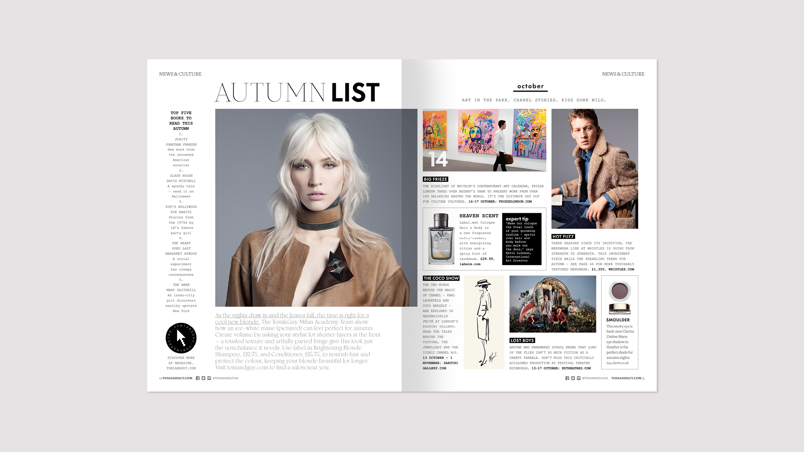 Toni&Guy autumn/winter issue 40