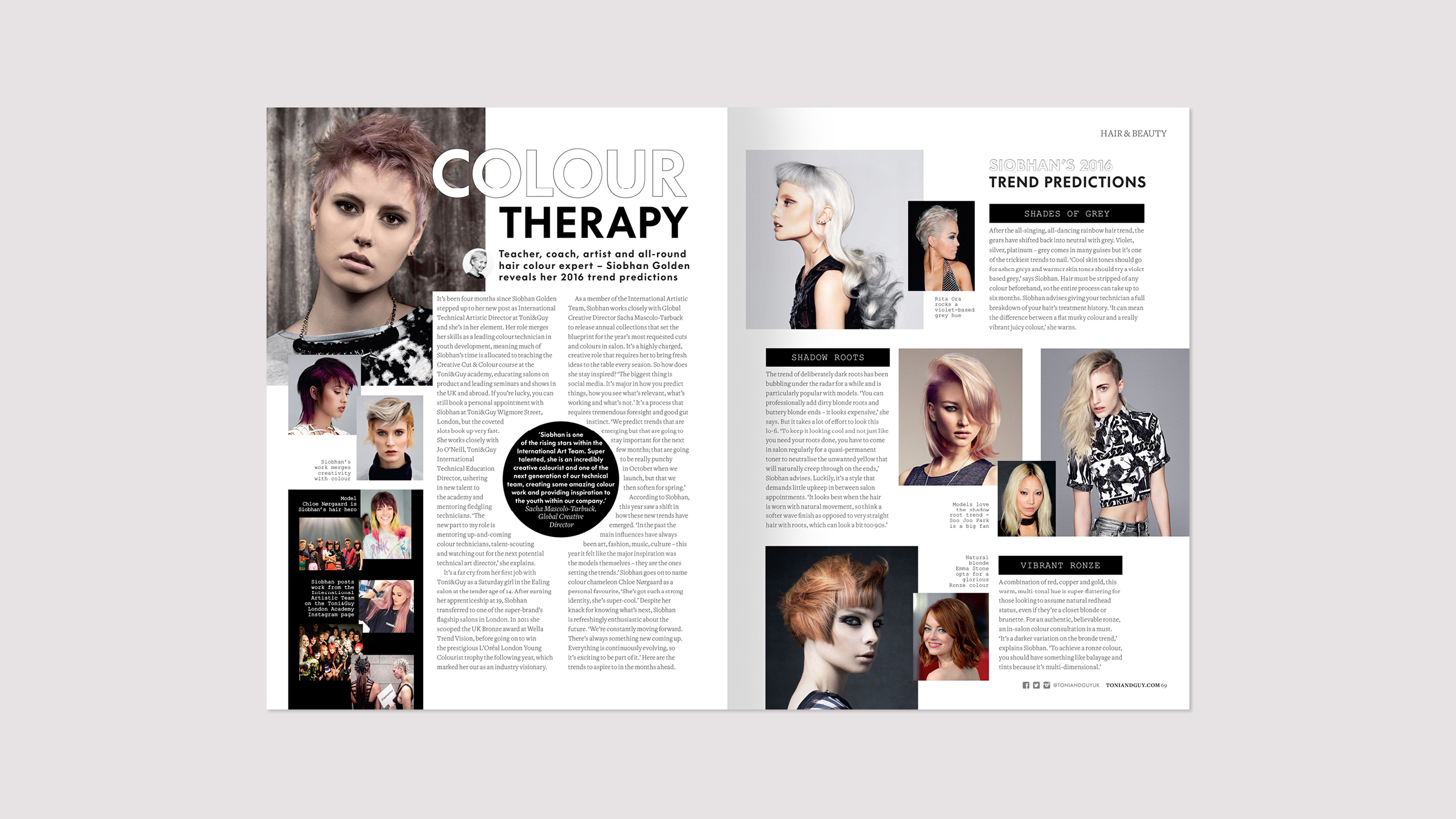 Toni&Guy spring issue 41