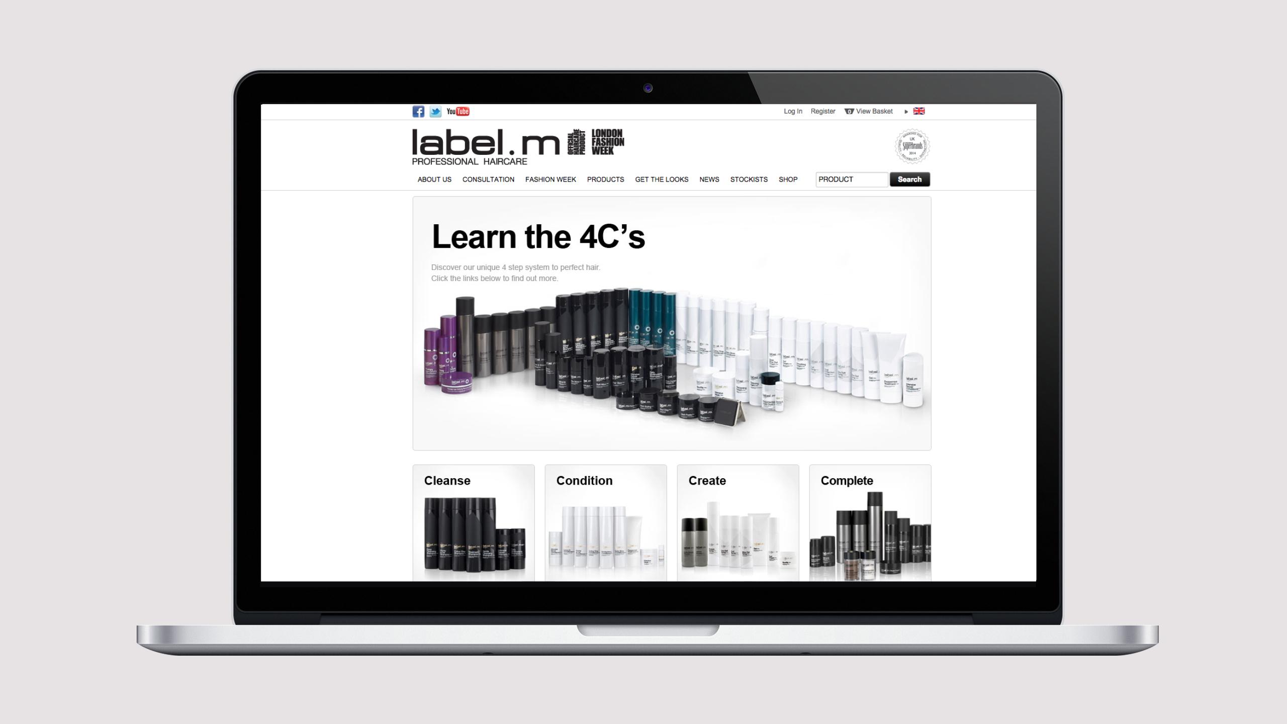 label.m website