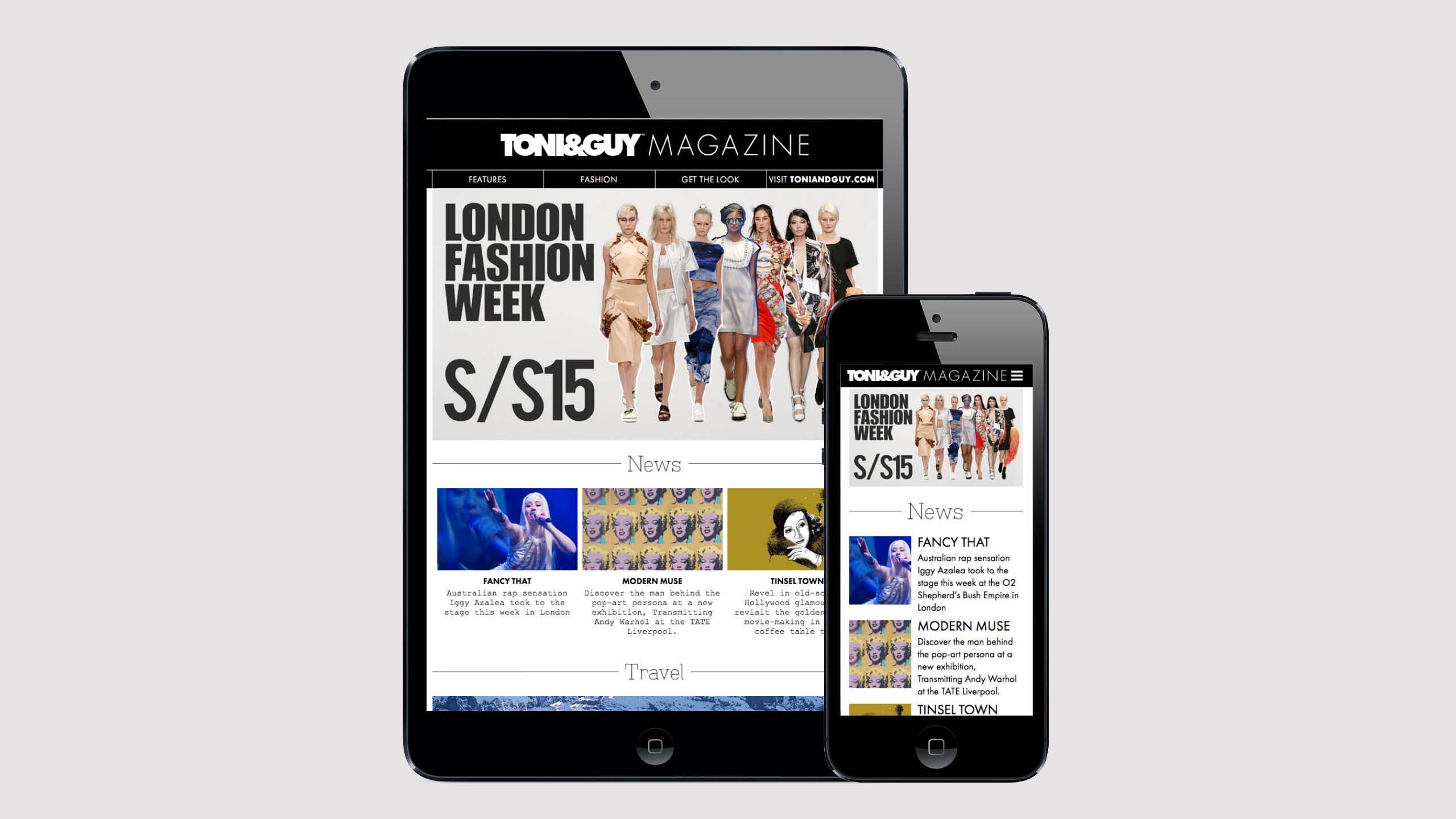 Toni&Guy digital magazine