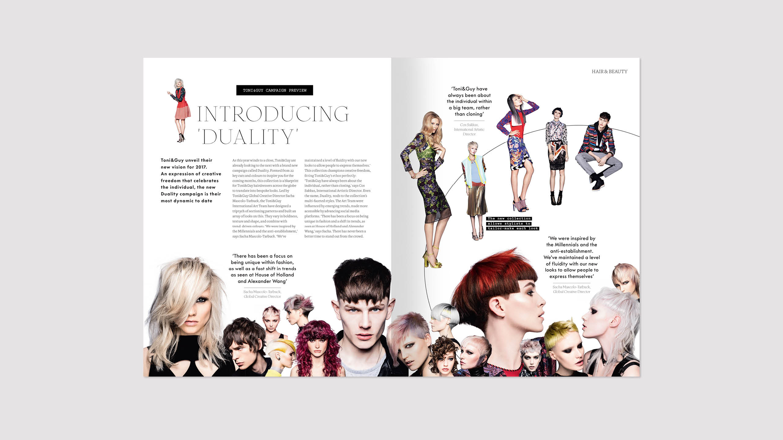 Toni&Guy autumn/winter issue 43