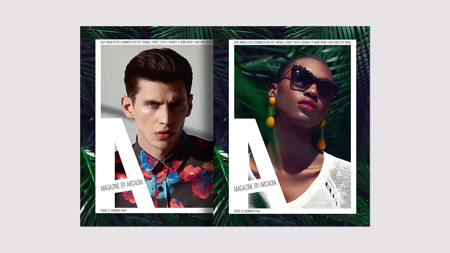 Arcadia magazine issue 9 spring/summer 2014