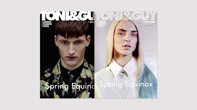 Tony&Guy magazine issue 35 spring 2014