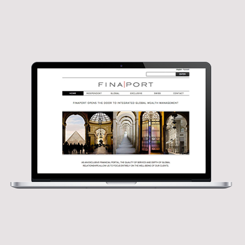Finaport website