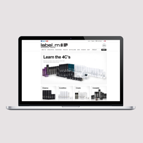 label.m website