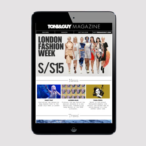 Toni&Guy digital magazine