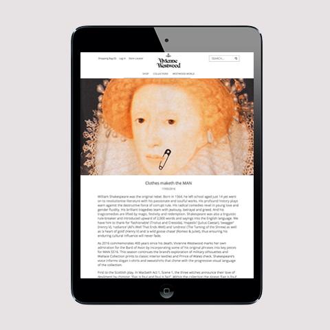 Vivienne Westwood Blogs